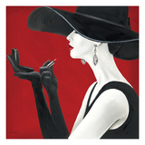Haute Chapeau Rouge II Giclee Print by Marco Fabiano
