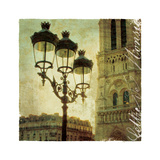 Golden Age of Paris IV Premium Giclee Print