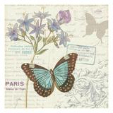 Papillon Tales II Reproduction giclée Premium par  Pela