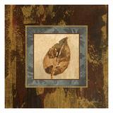 Autumn Leaf Square III Premium Giclee Print by Silvia Vassileva