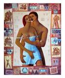 Intimite Giclée-Premiumdruck von Roger Burgi