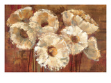 Waltzing Poppies Giclee Print by Silvia Vassileva