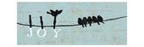 Birds on a Wire Lámina giclée prémium por  Pela