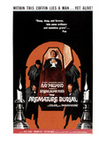 The Premature Burial, 1962 Posters