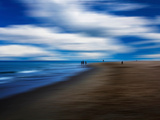 Blue Nights Photographic Print by Josh Adamski