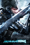 Metal Gear Solid Rising Cover Posters