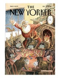 The New Yorker Cover - December 17, 2012 Premium Giclee Print by Edward Sorel