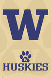 University of Washington Huskies Posters
