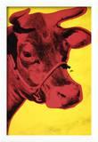 Cow, c.1966 (Yellow and Pink) Kunstdrucke von Andy Warhol