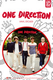 One Direction Walking Sticker Pegatina