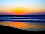 Colorful Sunset Fotodruck von Josh Adamski