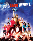Big Bang Theory - Season 5 Mini Poste Poster