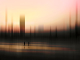 Pink Haze Photographic Print by Josh Adamski