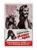 Planet of the Apes, Top: Charlton Heston, 1968 Posters