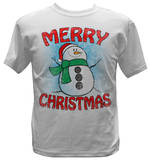 Youth: Snow Man - Merry Christmas Shirts