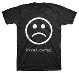 Crystal Castles - Sad Face (slim fit) T-shirts