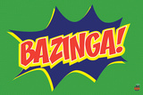 Big Bang Theory - Bazinga Icon Maxi Poster Posters