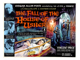 House of Usher, (AKA the Fall of the House of Usher), 1960 - Poster