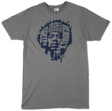 Jimi Hendrix - Music is my Religion (slim fit) T-shirts