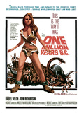 One Million Years, B.C., Raquel Welch, 1966 Poster