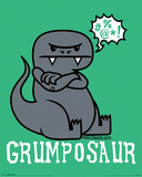 David & Goliath – Grumposaur Poster