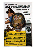 Kill Baby, Kill, (AKA Operazione Paura), Here Known As Curse of the Living Dead, 1972 Posters