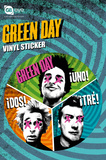 Green Day Trio Stickers