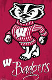 University of Wisconsin Badgers NCAA Plakater