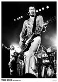 The Who i Rotterdam 1975 Affischer