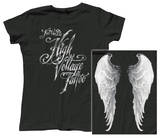 Juniors: Kat Von D - City of Angels T-Shirt
