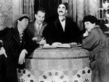 The Cocoanuts, Chico Marx, Zeppo Marx, Groucho Marx, Harpo Marx, 1929 Poster