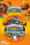 Skylanders Giants Logo Sticker Stickers