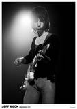 Jeff Beck Amsterdam 1972 Poster