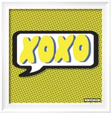 XOXO Limited Edition Framed Print by Nelson Viera