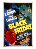 Black Friday, Bela Lugosi, Anne Nagel, Boris Karloff, 1940 Posters