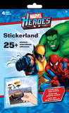 Marvel Heroes - Create a Scene Stickerland Pad Stickers