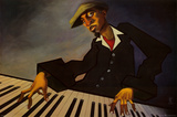Piano Man II Prints by Justin Bua