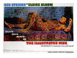 The Illustrated Man, Rod Steiger, 1969 Photo