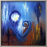 Icon of Love IV Art by Roula Ayoub