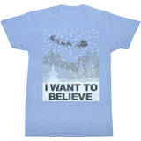Want To Believe Shirts