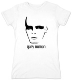 Juniors: Gary Numan - Face T-shirts