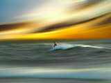 Man Aginst Nature Photographic Print by Josh Adamski