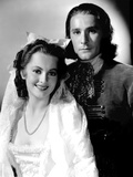Captain Blood, Olivia De Havilland, Errol Flynn, 1935 Photo