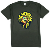 Jimi Hendrix - Purple Hazed (slim fit) Tshirt
