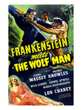 Frankenstein Meets the Wolf Man, 1943 Plakater