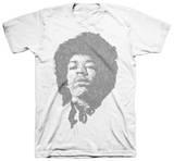 Jimi Hendrix - Stone Free (slim fit) T-shirts