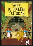 Le Sceptre d'Ottokar, c.1939 Poster af Hergé (Georges Rémi)