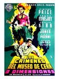 House of Wax, Vincent Price, 1953 Prints