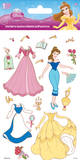 Disney Princess - Belle Dress Up Foam Stickers Stickers