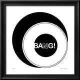 Bang! Limited Edition Framed Print by Nelson Viera